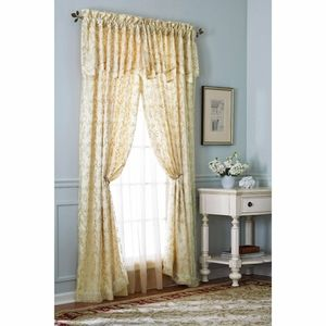 Better Homes & Garden embroidered curtain NWT